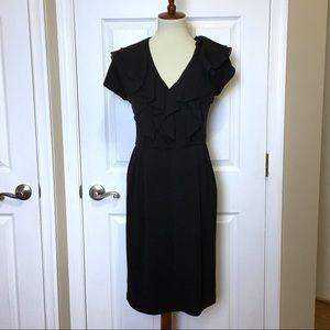 SUZI CHIN FOR MAGGY BOUTIQUE Black Sheath Dress 8